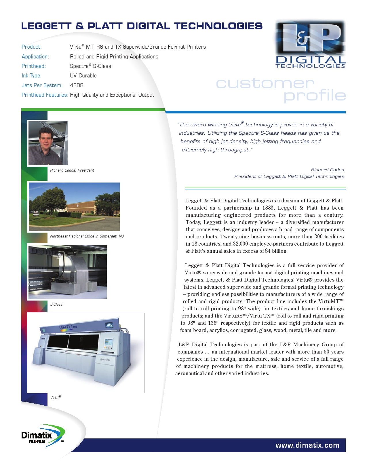 Article Lettett Platt Digital Technologies Printing – Format of Company Profile